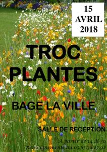 Troc plantes - Bagé-la-Ville - Avril 2018