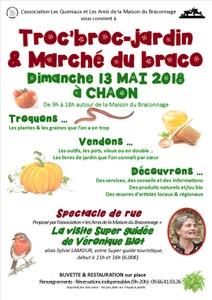 Troc'Broc-jardin & Marché du Braco - Chaon - Mai 2018