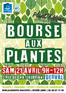 Bourse aux plantes Plant&Vous - Derval - Avril 2018