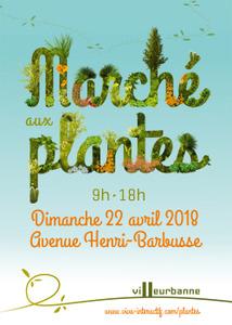 Marché aux plantes des Gratte-Ciel - Villeurbanne  - Avril 2018