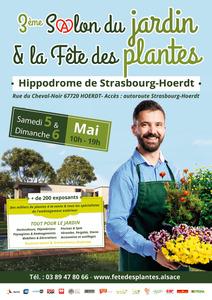 3ème salon du Jardin & Fête des plantes - Strasbourg-Hoerdt - Mai 2018