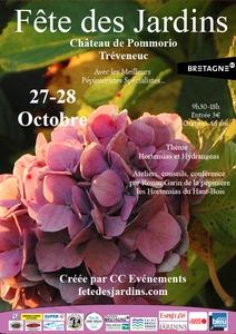 Fête des jardins au Château de Pommorio - Tréveneuc - Octobre 2018