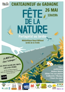 Partage (s) au jardin / fête de la Nature / 20ème troc aux plantes - Châteauneuf de Gadagne  - Juin 2018