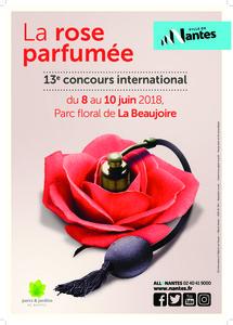 13e Concours International de la Rose Parfumeée - Nantes - Juin 2018