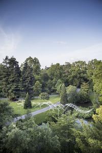 Attraction : Johann Le Guillerm propage ses créations Jardin des plantes - Nantes - Juin 2018