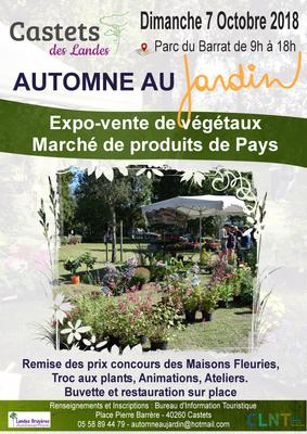 Automne au Jardin - Castets - Octobre 2018