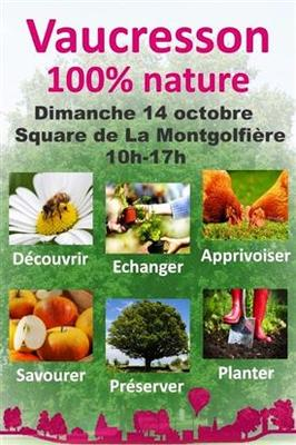 Vaucresson 100% Nature  - Vaucresson - Octobre 2018