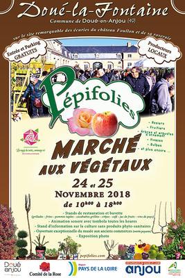 Pépifolies - 11e édition  - Doué-la-Fontaine - Novembre 2018