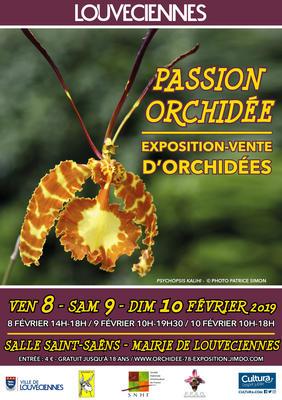 Exposition Orchidée Passion  - Louveciennes  - Février 2018