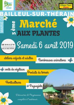 Marché aux plantes - Bailleul-sur-Thérain - Avril 2019