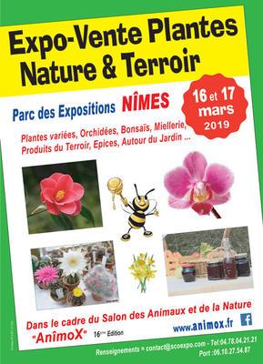 3e Expo-Vente Plantes, Nature & Terroir de NIMES - NIMES - Mars 2019