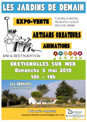 Les jardins de demain - Bretignolles sur mer - Mai 2019