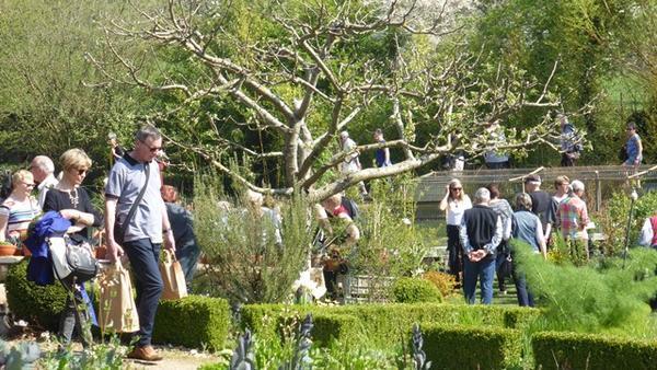 Portes ouvertes au Jardin d'Adoué - Lay Saint-Christophe - Avril 2019