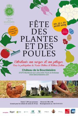 25e Fête des Plantes et des Poules - Montlouis-sur-Loire - Avril 2019