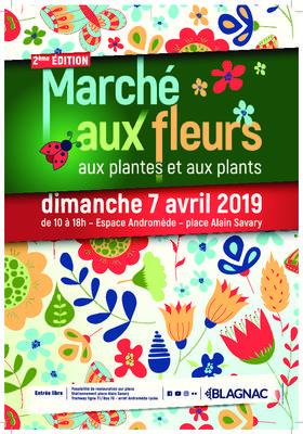 Marché aux fleurs, aux plantes et aux plants - BLAGNAC - Avril 2019
