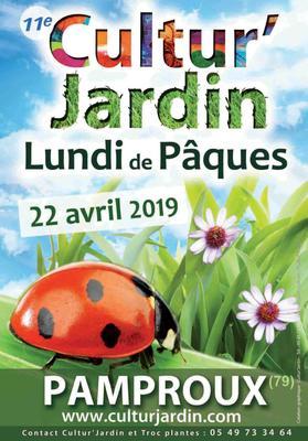 Cultur'Jardin 2019 - Fête des Plantes  - PAMPROUX - Avril 2019
