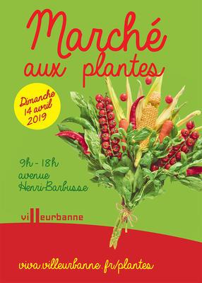 Marché aux plantes des Gratte-Ciel : Le potager urbain à l'honneur ! - VILLEURBANNE - Avril 2019