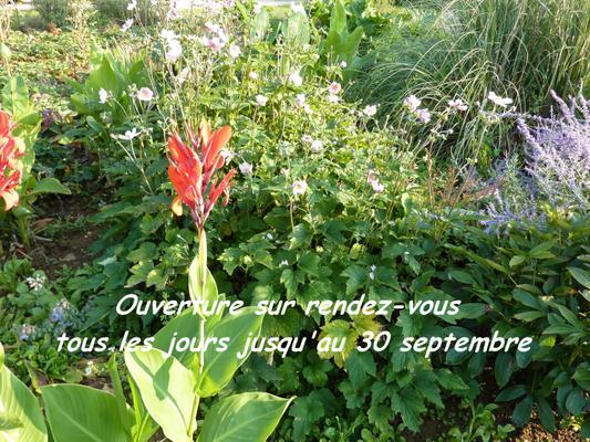 Ouverture du jardin - FONTAINE-FRANÇAISE - Mai 2019