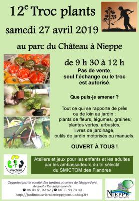 Troc plants - Nieppe - Avril 2019