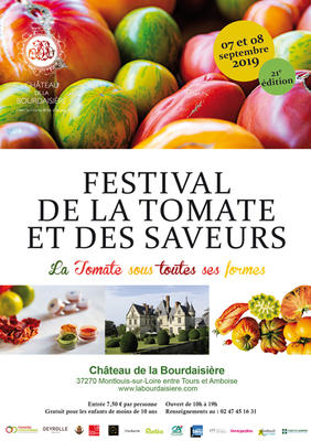 Festival de la Tomate et des Saveurs - 21ème édition - MONTLOUIS-SUR-LOIRE - Septembre 2019