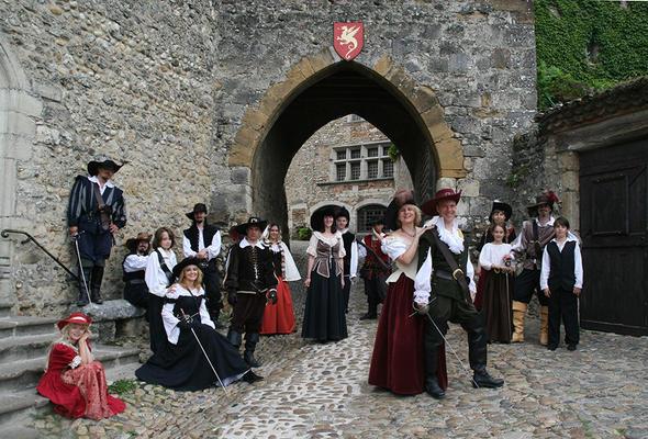 Les journées du Patrimoine au Château de Saint-Jean de Beauregard - SAINT-JEAN DE BEAUREGARD - Septembre 2019