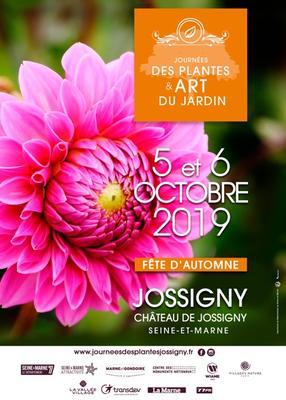 Journées des Plantes et Art du jardin Fête d'Automne - JOSSIGNY - Octobre 2019