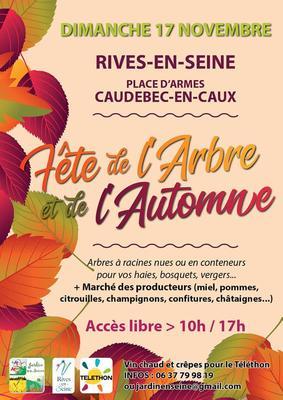 Fête de l'arbre et de l'automne - CAUDEBEC-EN-CAUX - Novembre 2019